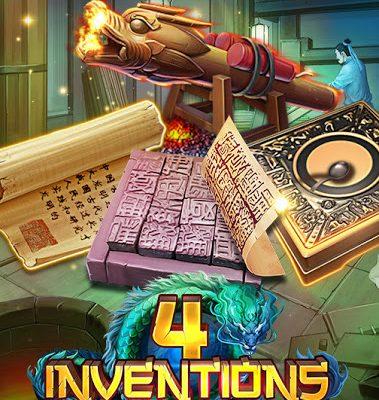 THE 4 INVENTIONS เกมสล็อตมาใหม่ 2020
