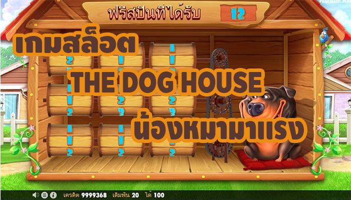 เกมสล็อตTHE DOG HOUSE น้องหมามาเเรง